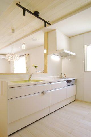 キッチン - ナチュラルテイストな健康住宅 - 山田建築店