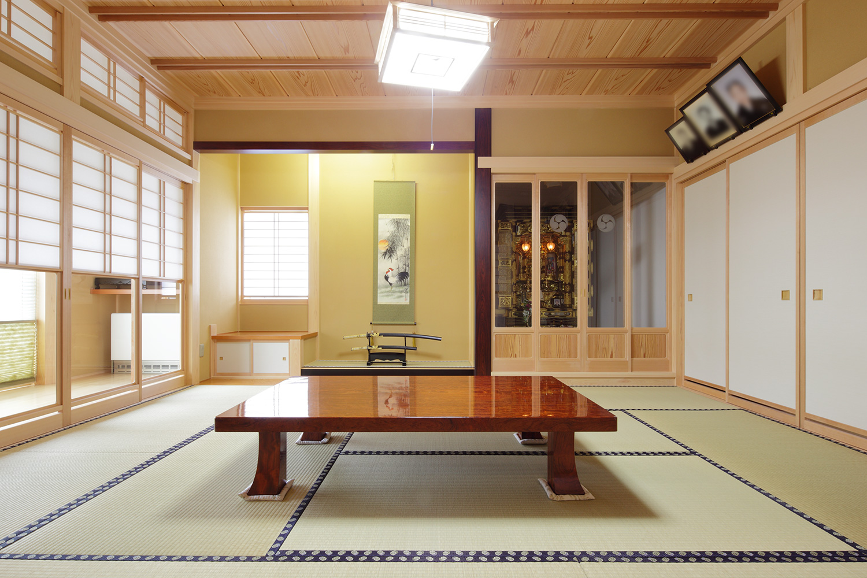 仏間 - 3世代をつなぐ住まい - 山田建築店