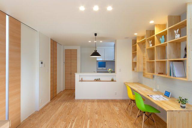 LDK - やさしい木の家 施工事例 - 山田建築店