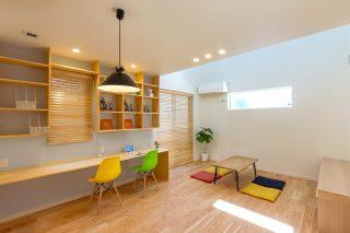 スタディコーナー - やさしい木の家 施工事例 - 山田建築店