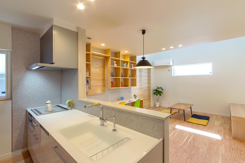 キッチン - やさしい木の家 施工事例 - 山田建築店