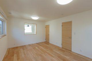 寝室 - やさしい木の家 施工事例 - 山田建築店