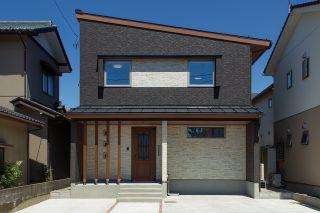 外観 - やさしい木の家 施工事例 - 山田建築店