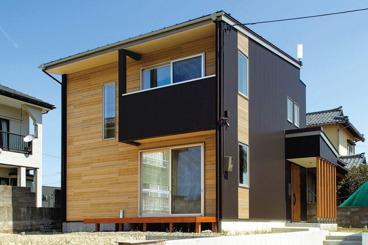 外観 - ご主人が設計して作り上げた清々しい白い空間 - 山田建築店