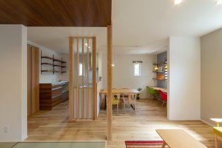 LDK - 使い勝手もインテリアも大満足!大人世代の理想を叶えた家 - 山田建築店