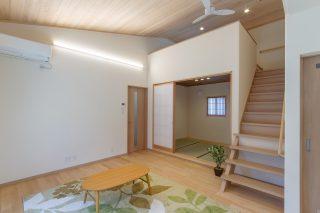 リビング・和室 - 施工事例 - 山田建築店